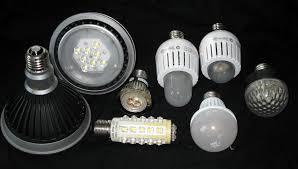 LED lámpatest